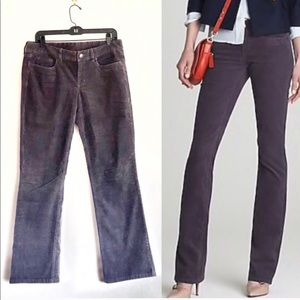 J Crew Favorite Fit Vintage Bootcut Stretch Cords